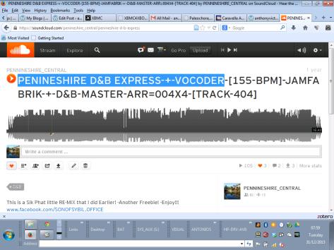 PENINESHIRE D&B EXPRESS-+-VOCODER-P1